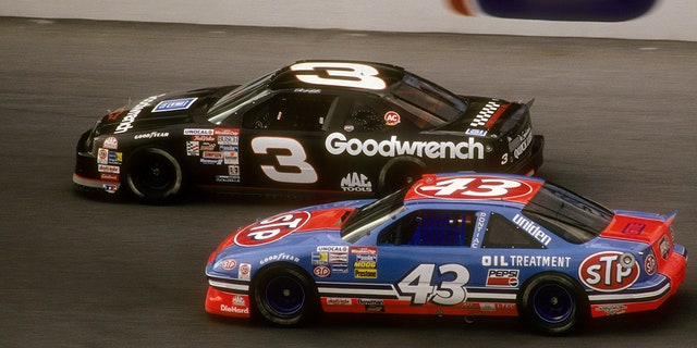Earnhardt and Petty last raced against each other in 1992.