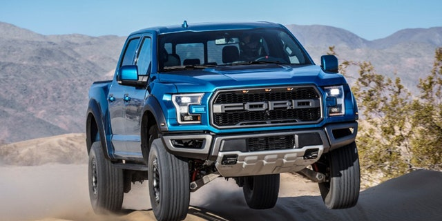 The current raptor has a 450 hp turbocharged V6.