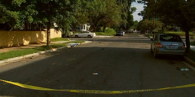Police investigate a shooting that broke out in southeast Washington, D.C. early Sunday morning. (WTTG)