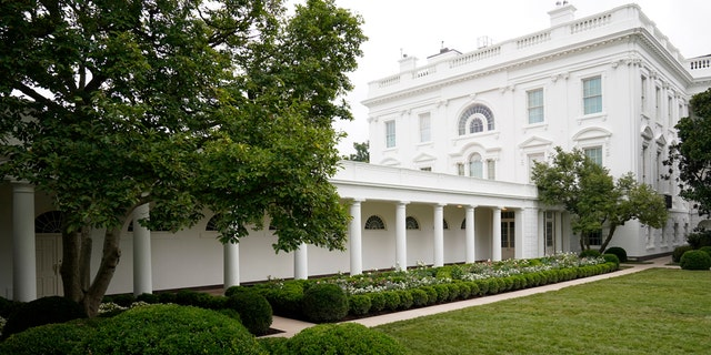 The three weeks of work on the Rose Garden, which was done in the spirit of its original 1962 design, were showcased to reporters on Saturday.