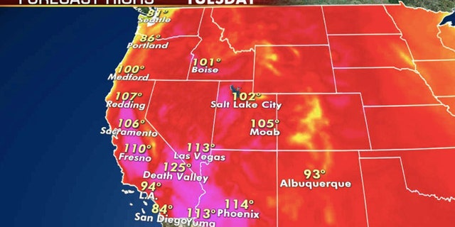 Record-breaking heat is fueling almost 30 wildfires burning across California