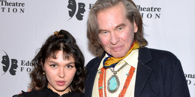 Val Kilmer and his daughter, actress Mercedes Kilmer. (Getty Images)