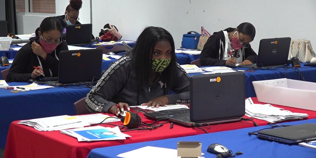 Broward County employees get ready for the influx of mail-in votes in the upcoming election.