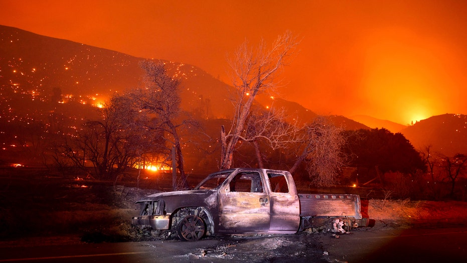 Lake Fire prompts overnight evacuations in Los Angeles County