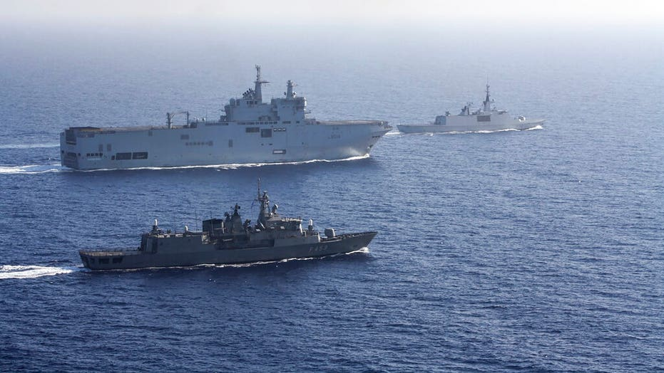 France sends forces into eastern Mediterranean to quell tensions between  Greece, Turkey | Fox News