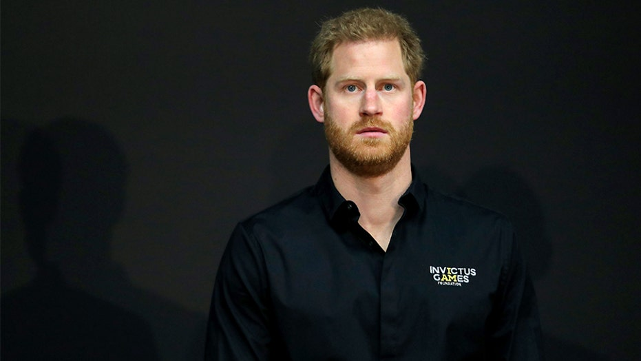 Prince Harry appears on UK version of 'Dancing with the Stars' to cheer on fellow military veteran