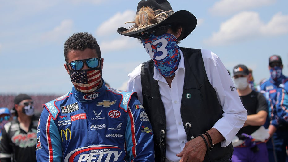 NASCAR's Bubba Wallace sits down with Lawrence Jones on Fox Nation