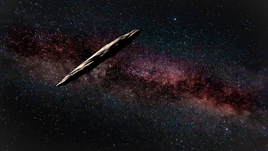 Harvard physicist makes case on how 'Oumuamu could have been an alien spacecraft
