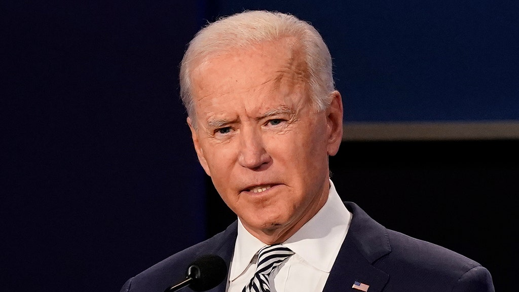 Biden snaps after CBS reporter asks about son Hunter's alleged emails