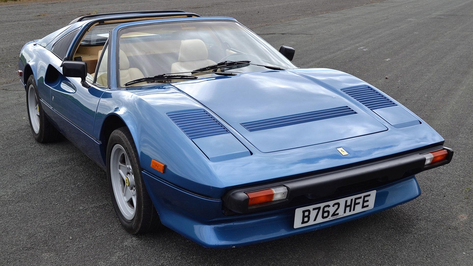 Iggy Pop's classic Ferrari 308