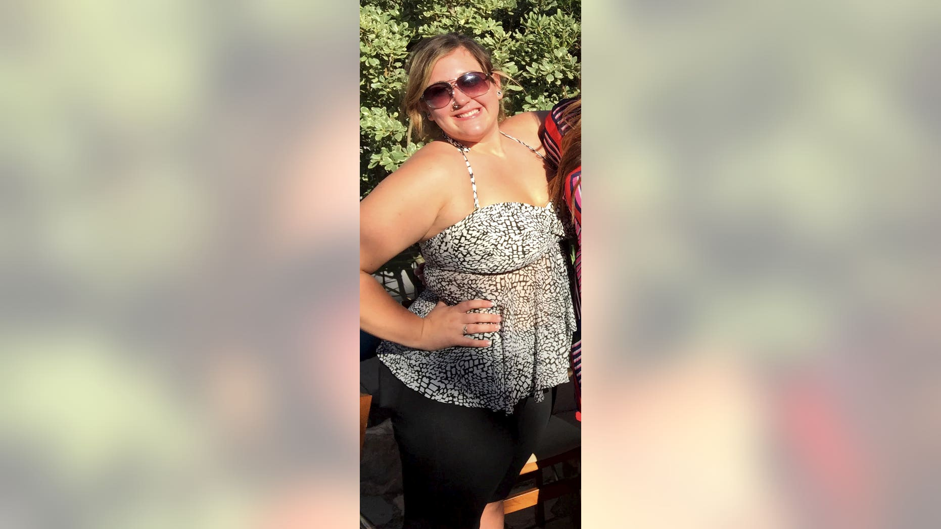 Vivian McCall weighed 273 pounds in September 2019, and knew something had to change when she struggled to get comfortable in an airplane seat during a trip to California. (SWNS)