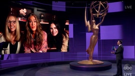 Jennifer Aniston joined by Courteney Cox and Lisa Kudrow at 2020 Emmys