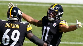 Steelers rookie Chase Claypool hauls in first-career touchdown