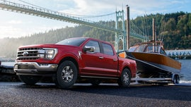 2021 Ford F-150 sets class tow rating record at 14,000 pounds