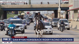 Chicago's 'Dreadhead Cowboy' arrested after riding a horse on expressway: cops