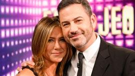 Jennifer Aniston, Jimmy Kimmel face fire scare on stage at 2020 Emmy Awards