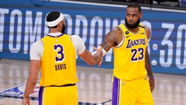 Anthony Davis on Lakers teammate LeBron James: 'I plan to follow this motherf---er to hopefully 9 more Finals'
