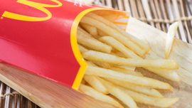 Dad in trouble with wife and daughter after buying McDonald's for himself, and only himself