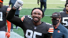 Browns' Myles Garrett shows off immense strength in win vs. Washington