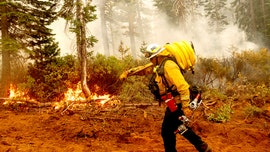 Oregon wildfires burning underground pose threat, firefighter warns 'you do not want to fall into this'