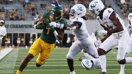 Ebner dominates in Aranda debut as Baylor tops Kansas 47-14