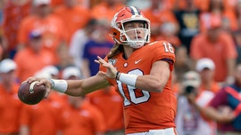 Lawrence, No. 1 Clemson overwhelm The Citadel 49-0