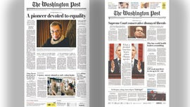 Ginsburg, Scalia deaths covered differently by Washington Post, critics say