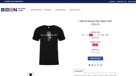 Biden campaign selling 'Will You Shut Up, Man' T-shirts following first presidential debate