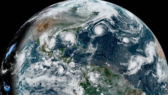 5 named storms roil Atlantic Basin at once for first time since 1971