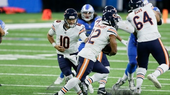 Trubisky throws 3 TDs in 4th to help Bears beat Lions 27-23