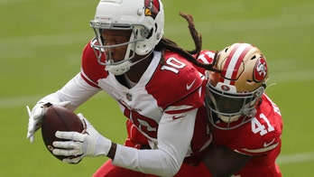 Hopkins helps Cardinals rally past 49ers 24-20