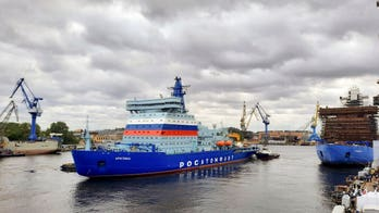 Arctic race heats up as Russia launches flagship nuclear-powered icebreaker