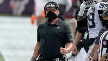 Gruden: Raiders players made 'mistake' not wearing masks