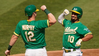 A's hold off Abreu, White Sox 5-3, force series to Game 3