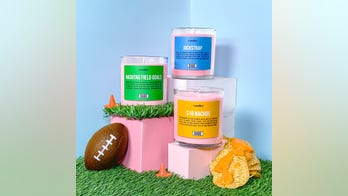 Babe wines releases football-themed candles including $18 nachos and jockstrap to 'enhance at-home' viewing