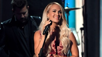 Carrie Underwood hopes gospel album 'My Savior' will bring positivity after a 'tough year'