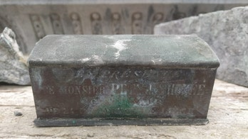Workers make 'astonishing' discovery: Heart of 19th-century mayor found in fountain