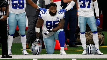 Cowboys' Dontari Poe says he talked to Jerry Jones prior to kneeling for national anthem