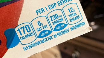 Foods with front-of-package nutrition labels show 'improved' quality over the years, study suggests