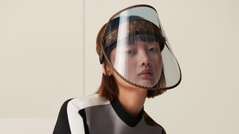 Louis Vuitton's coronavirus-inspired face shield to sell for just under $1G