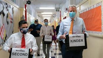 Bill de Blasio 'very confident' in revised NYC school reopening timeline