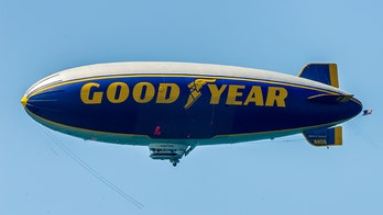 'UFO' spotted in NJ was apparently just a Goodyear blimp