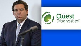 Florida Gov. DeSantis drops Quest Diagnostics over 'stale data dump' of months-old coronavirus test results