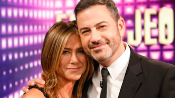 Jennifer Aniston, Jimmy Kimmel face fire scare on stage at 2020 Emmy Awards