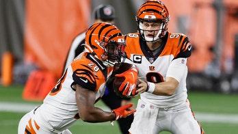 Bengals' Joe Burrow fires first career TD pass, gets LeBron James' praise