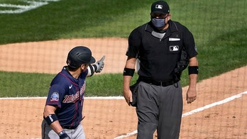 Twins' Josh Donaldson hits home run, ejected at home plate after tiff with ump