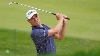 Thomas takes US Open lead with 65 on soft, kind Winged Foot