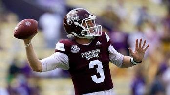 Mississippi State's K.J. Costello leads Bulldogs to upset over No. 6 LSU
