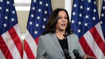 Kamala Harris doesn't take questions after speech ripping Trump's Supreme Court push