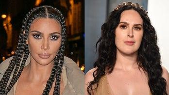 Rumer Willis looks like Kim Kardashian's twin in underwear photos